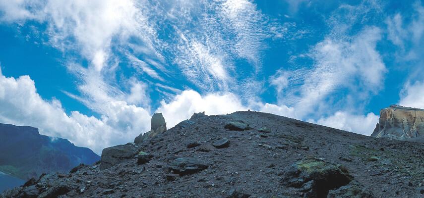 montagne rocailleuse